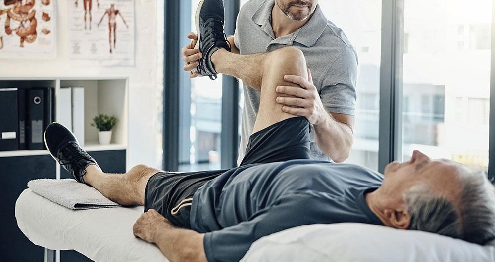 Fisioterapia para personas mayores en Vitoria