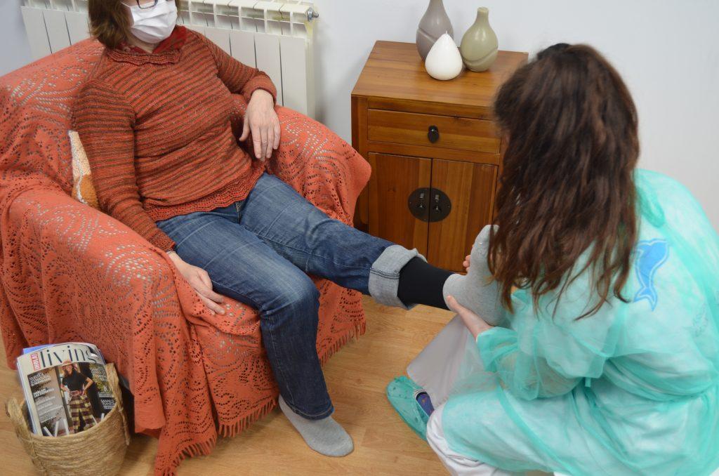 kuida fisioterapia a domicilio